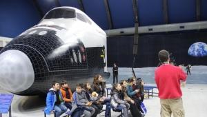 Uzay meraklıları Gaziemir'e akın ediyor