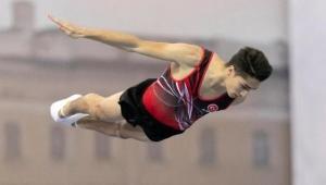 Cimnastikçi Doğukan Bakü yolcusu