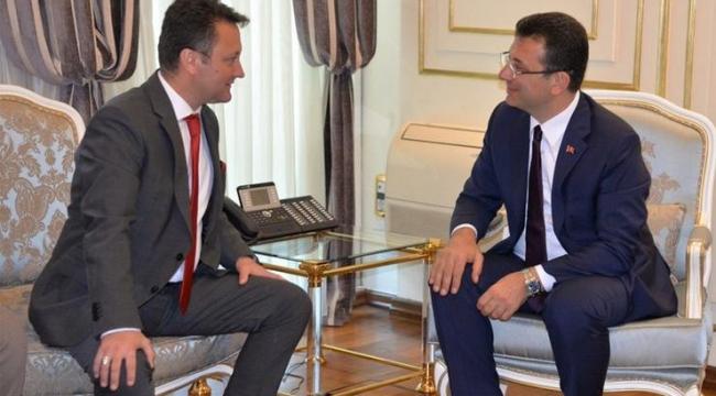 Serdar Aksoy'dan İmamoğlu'na ziyaret