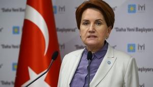 Akşener: Erdoğan kendisini Saray şaşasına teslim etti