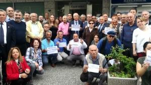 CHP Karabağlar İlçe Örgütünden Ekrem İmamoğlu'na destek