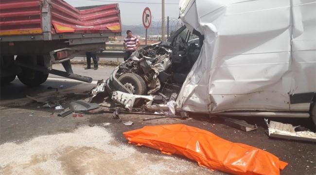 İzmir'de zincirleme kaza can aldı!