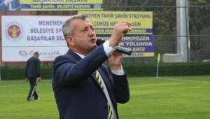 Menemenspor'da Tahir Şahin istifa etti