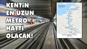 Müjde! İzmir'e bir metro hattı daha geliyor