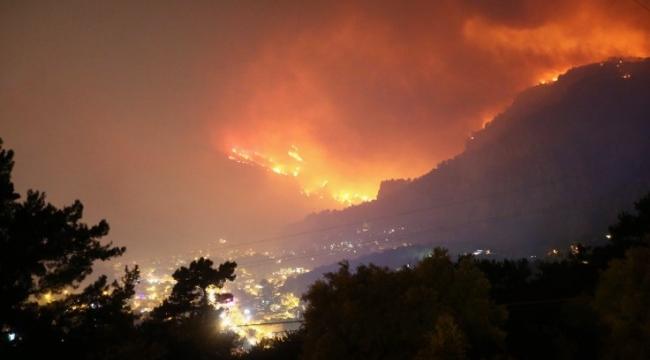 17 saat sürdü, 350 hektar yandı!