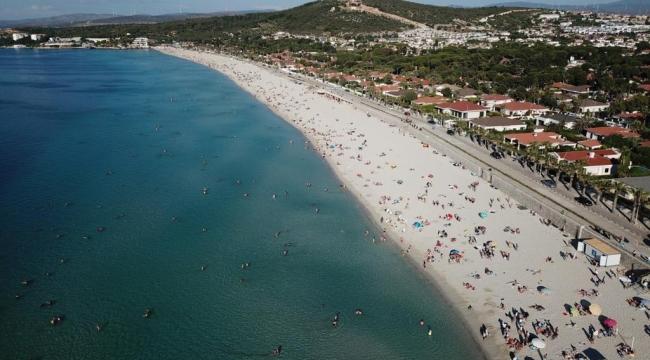 Çeşme en güzel plajı ile Türkiye birincisi!