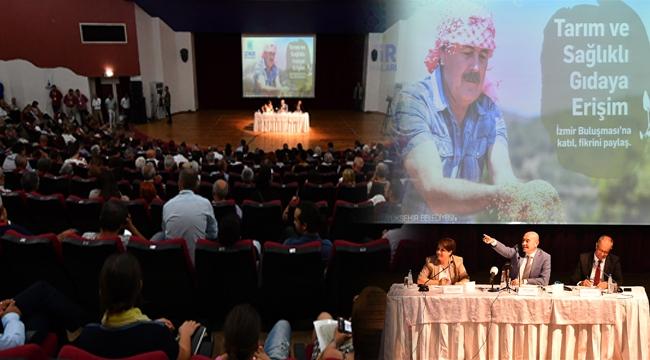 İzmirliler 'Tarım ve Sağlıklı Gıdaya Erişim' için buluştu