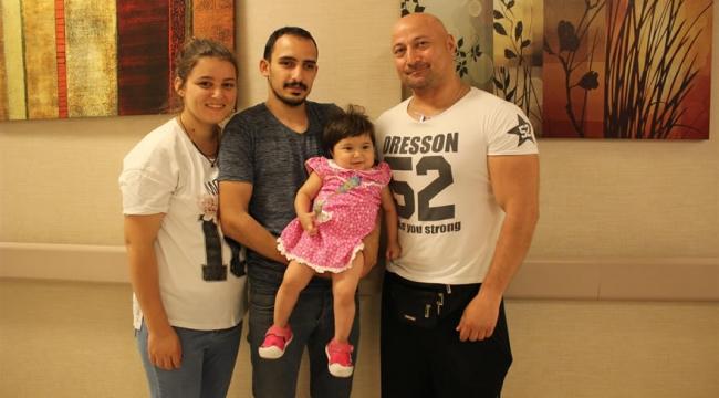 Minik Azra'ya 2 yıllık ömründe 2 kez karaciğer nakli yapıldı