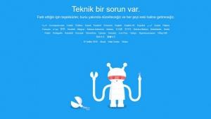 Sosyal paylaşım sitesi Twitter çöktü mü?