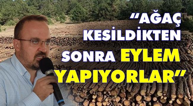 AKP'li Bülent Turan Kaz Dağları'ndaki katliamı böyle savundu