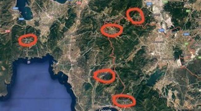 İzmir ormanları altın madeni için mi yakıldı?