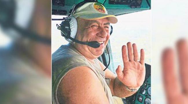 İzmir yangınında görev alan pilot otel odasında ölü bulundu