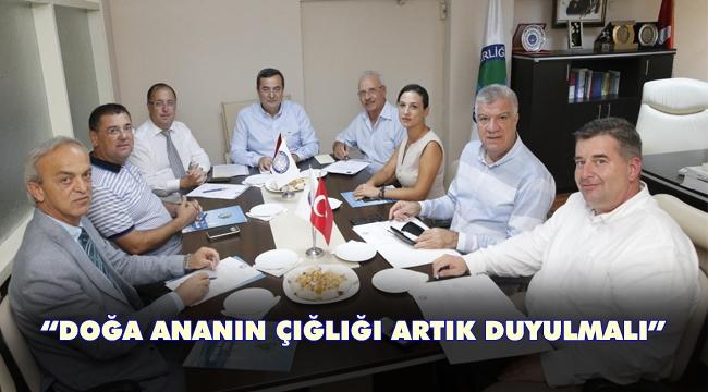 Kıyı Ege Belediyeler Birliği'nden çevre deklarasyonu