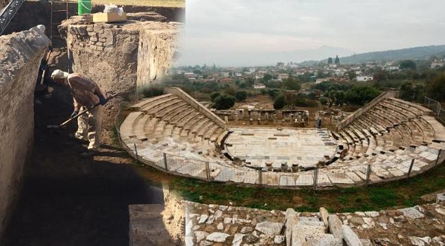 Metropolis Antik Kenti kazı çalışmaları başladı