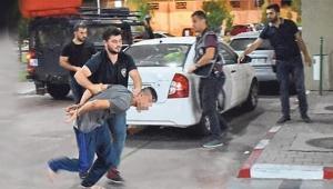 Polisin gözaltına aldığı şahsı kaçırma girişimi