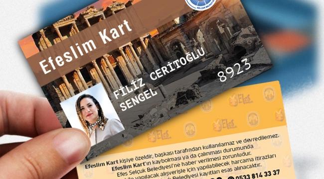 Efes Selçuk'un sihirli kartı EfeslimKart