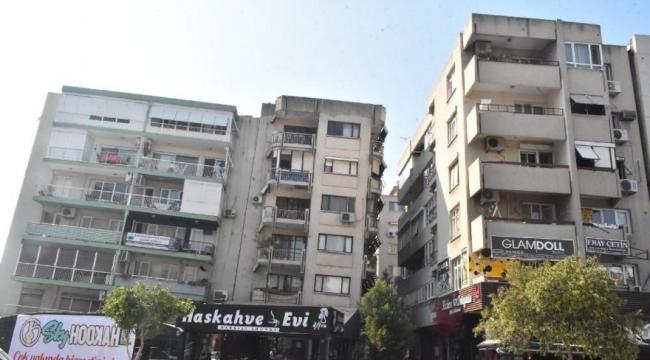 Karşıyaka'da yatık duran binalar için tahliye kararı