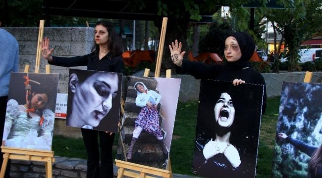 Muğla sokaklarında 'Kadına Şiddete Hayır' fermanı