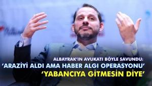 Albayrak'ın avukatından Kanal İstanbul arazisi açıklaması!