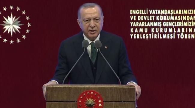 Erdoğan: Kimi evde kalıyor, kimi 30'undan sonra evleniyor