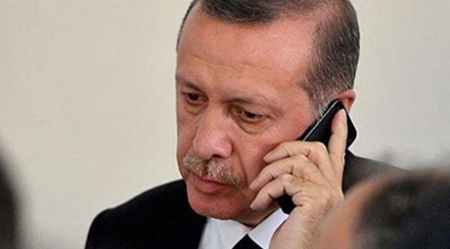 Erdoğan, Ruhani ve Salih ile telefonda görüştü