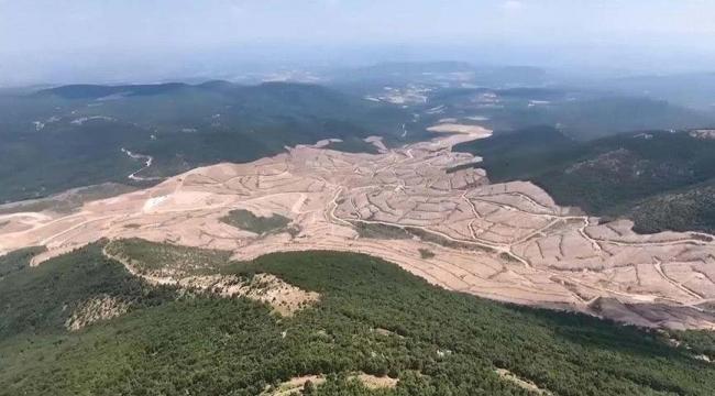 Kaz Dağları'nda tehlike hâlâ sürüyor