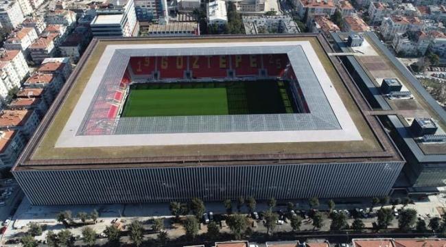 Türkiye'de ilk olacak stadyum Göztepe taraftarı gün sayıyor