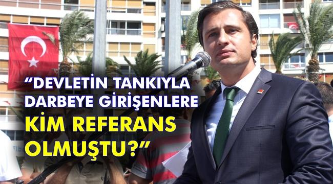 Yücel'den AKP'li Dağ'a çok sert Urla yanıtı!