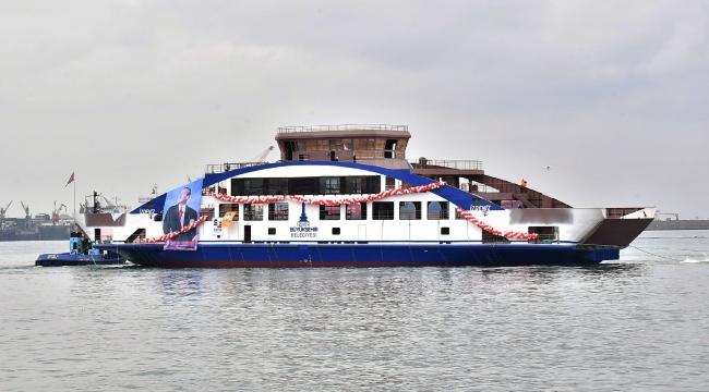 İzmir'in yeni feribotuna verilecek isim belli oldu