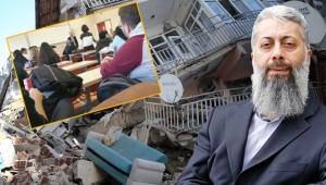 Öğrenciler, depremi çocuk yaşta evliliğin yasaklanmasına bağlayan profesörün dersini terk etti!
