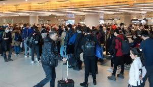 Yasağın başlamasına dakikalar kala Türkiye'ye döndüler