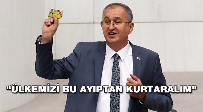 CHP Milletvekili Atila Sertel gazetecilere özgürlük istedi
