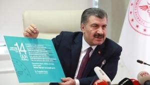 Sağlık Bakanı Koca açıkladı: Vaka sayısı 20 bin 921'e, ölü sayısı 425'e yükseldi