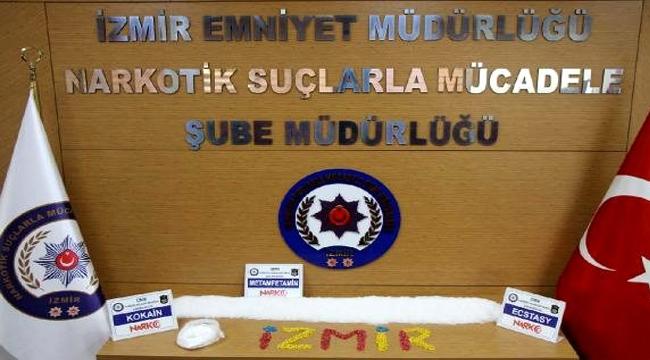 İzmir'de rekor miktarda uyuşturucu ele geçti