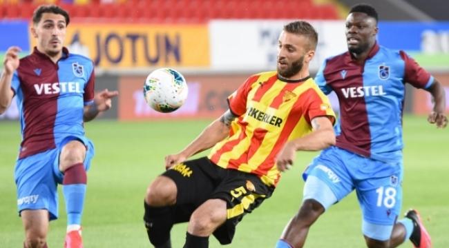 Göztepe, Trabzonspor'a boyun eğdi
