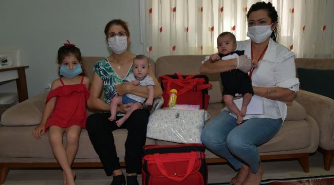 Çiğli'de 'Hoş Geldin Bebek' dayanışması