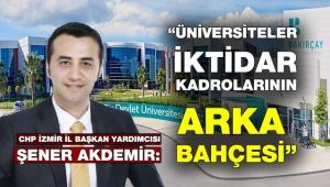 İzmir Bakırçay Üniversitesi'nde adrese teslim akademisyen ilanı!