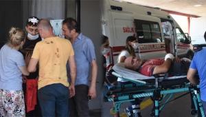 İzmir'de acemi kasaplar acile koştu