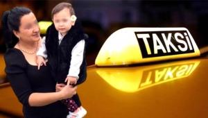 İzmir'de bir taksici, bebeği taksiye kusan müşteriden 400 lira istedi