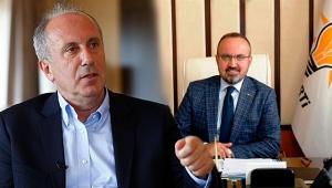 AKP'den 'İnce' destek