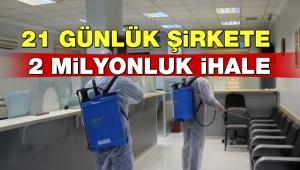 AKP'li belediyede dikkat çeken ihale: Sadece 21 günlük!