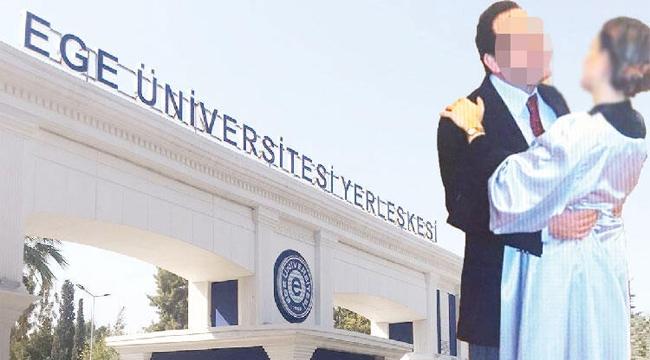 Ege Üniversitesi'nde skandal! Profesöre taciz suçlaması