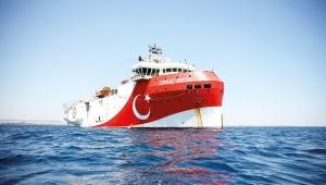 Oruç Reis gemisi, 9 günlük aranın ardından tekrar denize açıldı