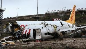 Sabiha Gökçen Havalimanı'ndaki uçak kazasıyla ilgili yeni gelişme