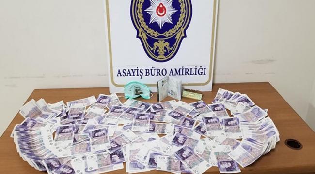 Sahte parayla yakalanan turist tutuklandı