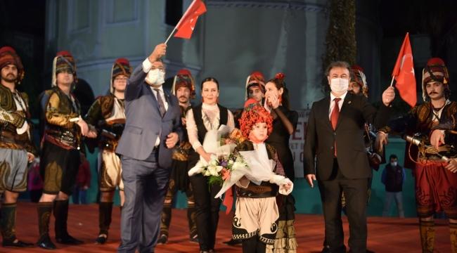 Bornova'da Cumhuriyet Bayramı coşkusu