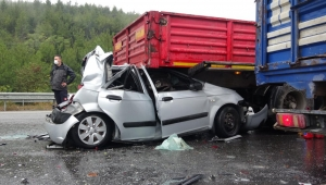 İzmir'de feci kaza! 9 araç birbirine girdi...