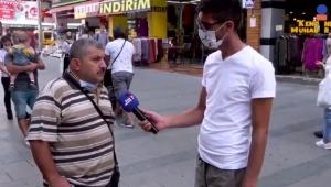 Röportajda Erdoğan'ı eleştiren vatandaş ikinci kez gözaltına alındı