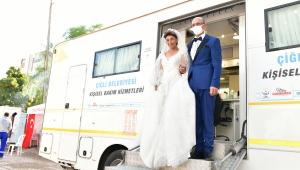 Çadır kentte depremzede çifte nikah