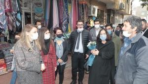 DEVA İzmir'de sahaya indi: Ösen'den 9 ilçede esnaf ziyareti
